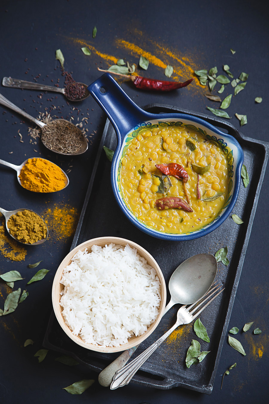 Curry z soczewicą (Dhal Curry)